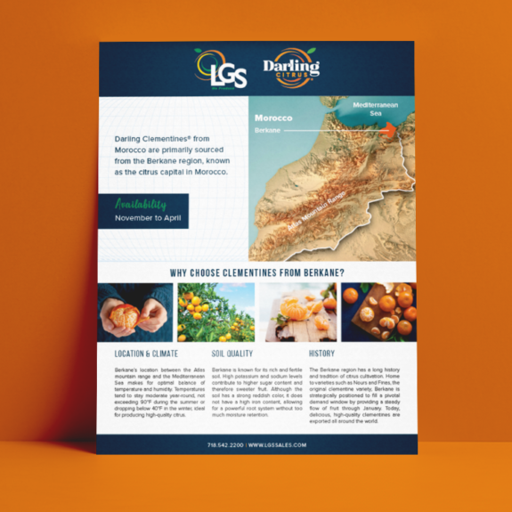LGS Morocco Growing Region Availability